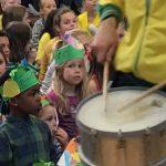Samba parade op De Schouw